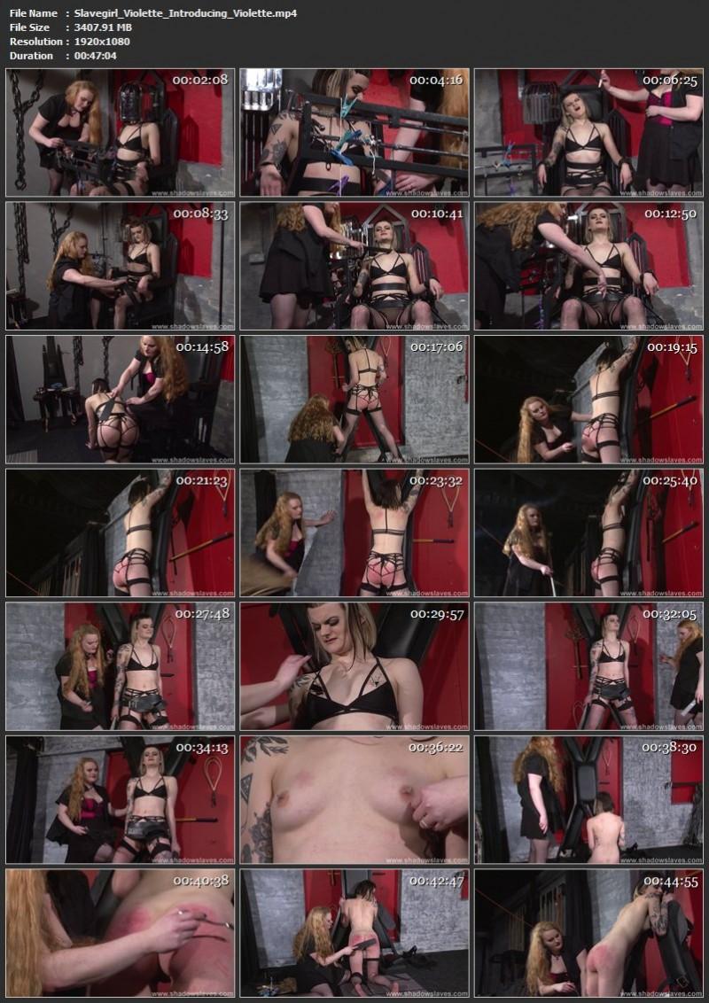 Slavegirl Violette - Introducing Violette. ShadowSlaves.com (3407 Mb)