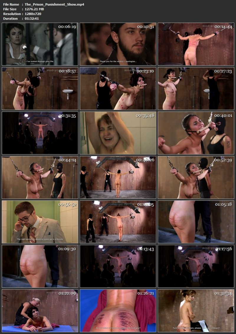 The Prison Punishment Show. Elitepain.com (1276 Mb)