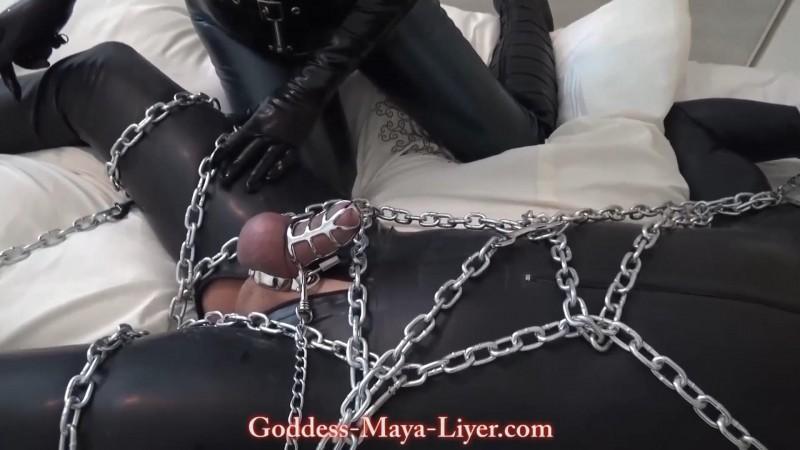 Chastity in Chains. Goddess-Maya-Liyer.com (1606 Mb)