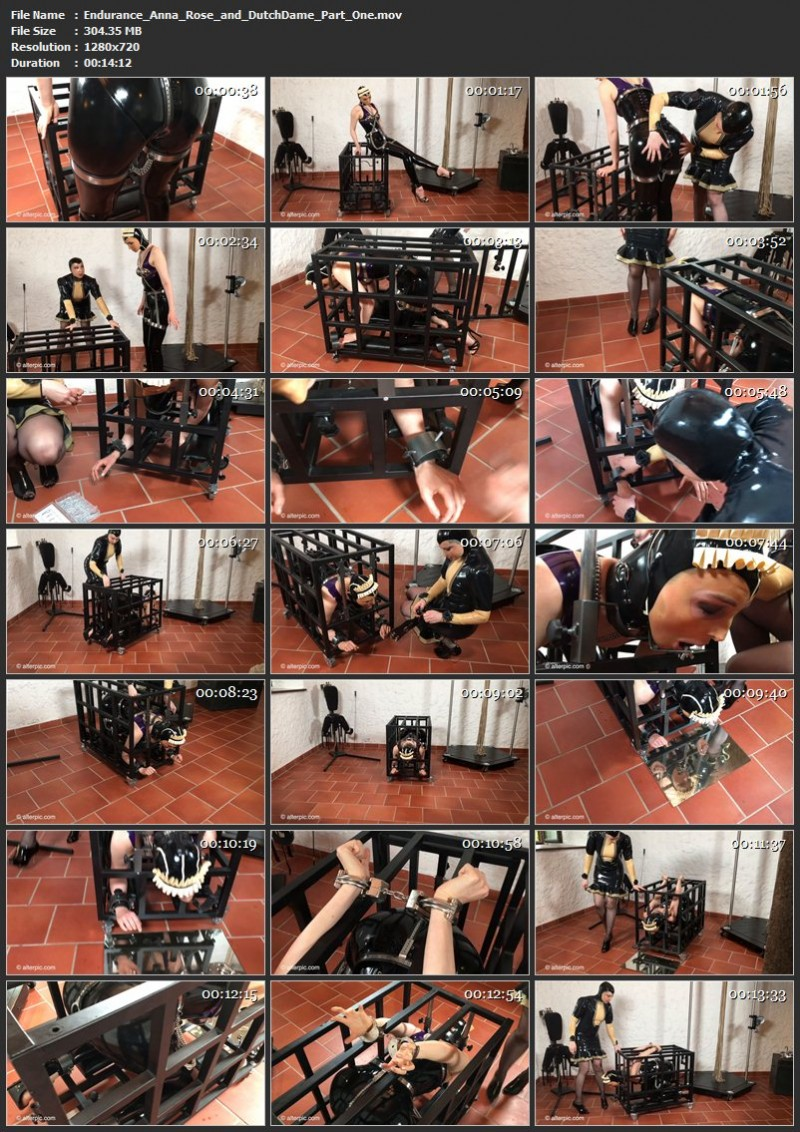 Endurance – Anna Rose and DutchDame Part One. May 12 2017. AlterPic.com (304 Mb)