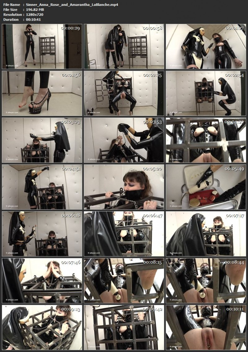 Sinner – Anna Rose and Amarantha LaBlanche. AlterPic.com (196 Mb)