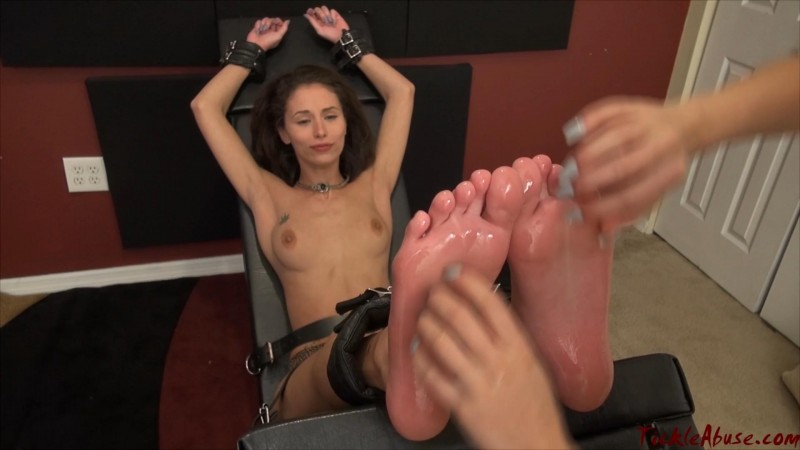 TickleAbuse – Ari Topless Soles Up. Tickling-Submission.com (748 Mb)