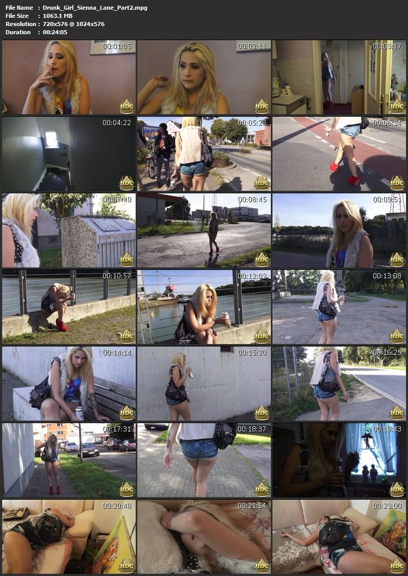 Drunk Girl - Sienna Lane. HotDrinkingChicks.com (2711 Mb)