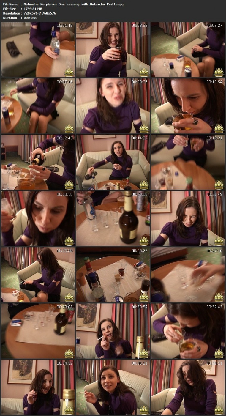 Natascha Kurylenko – One evening with Natascha. HotDrinkingChicks.com (3414 Mb)