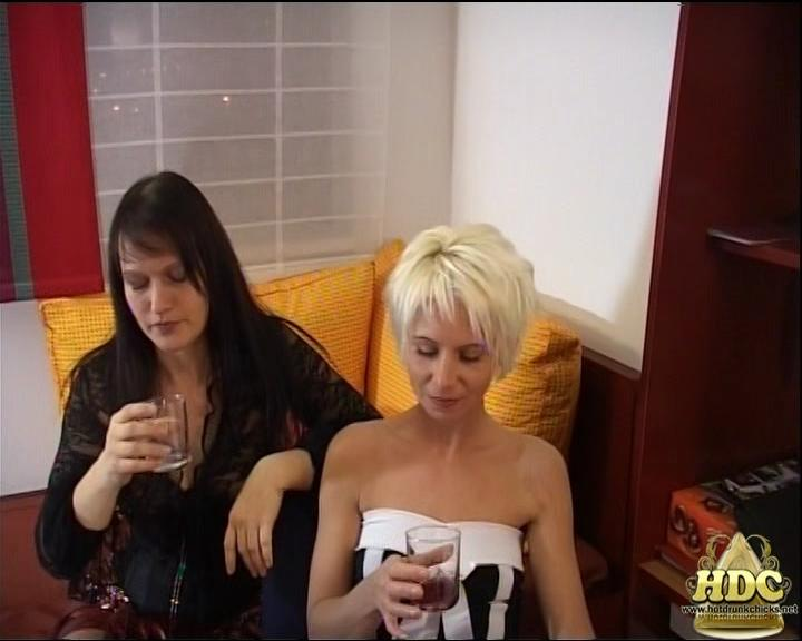 Yvette Costeau and Lena King – New Year's in Hungary. HotDrinkingChicks.com (2561 Mb)