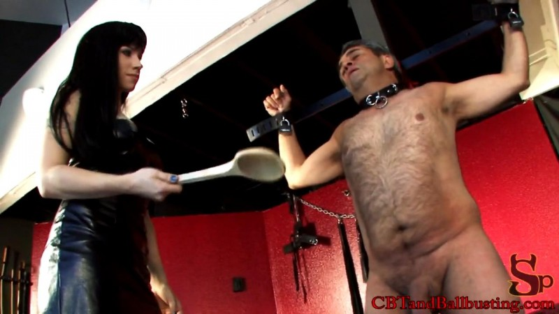 Bound and Busted – Mistress Nightshadow. Cbtandballbusting.com (200 Mb)