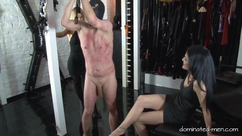 Herrin Black Diamoond – No Mercy for your Balls. Dominated-men.com (127 Mb)