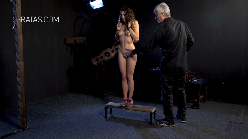 The Punishment Of A Young Model. Graias.com (2316 Mb)