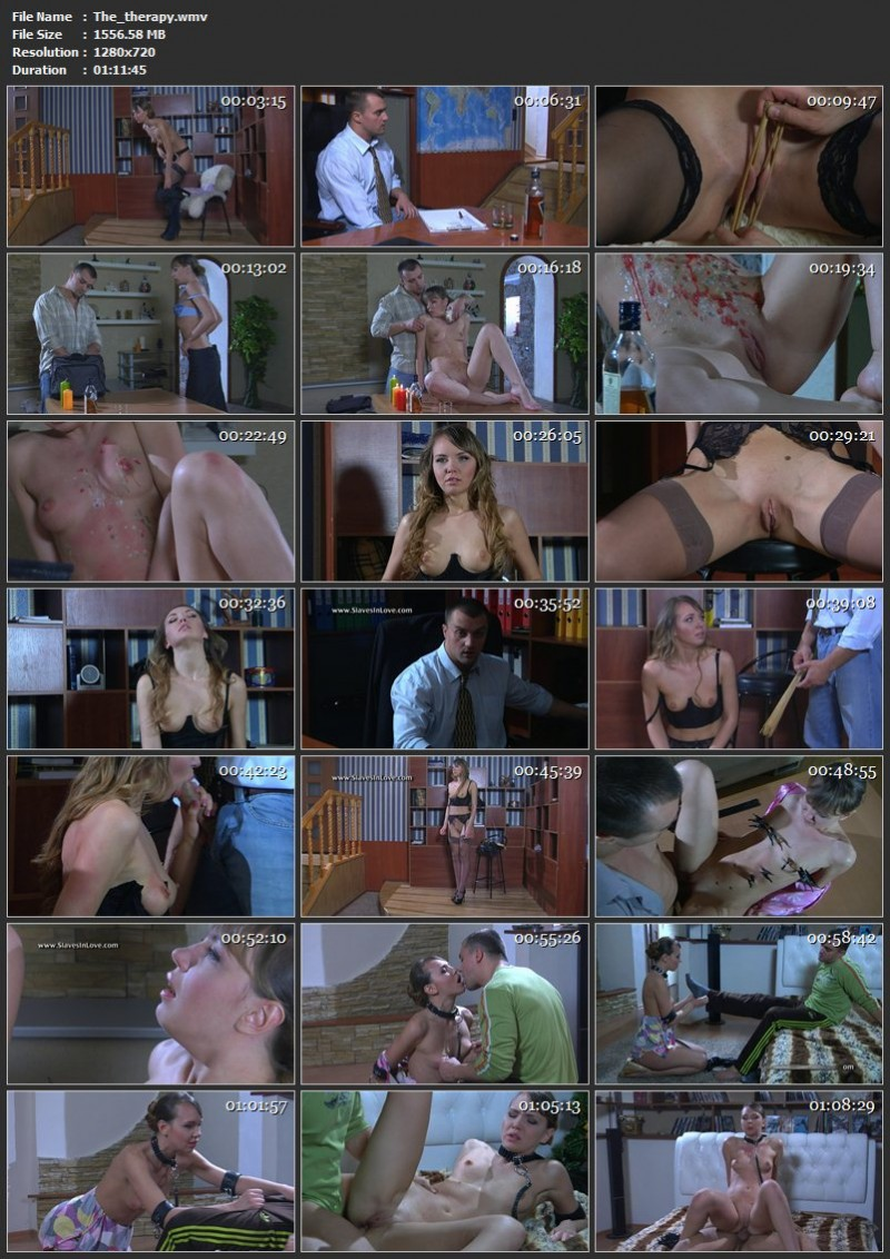The therapy. Slavesinlove.com (1556 Mb)