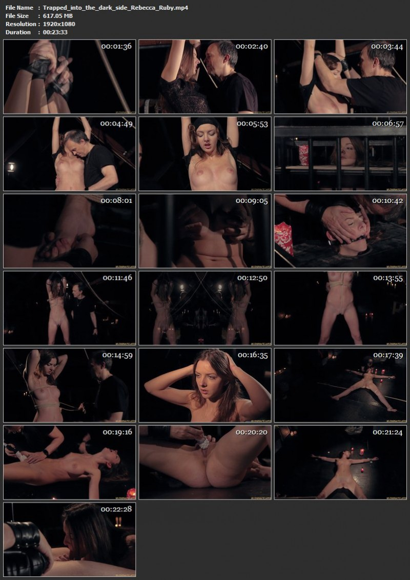 Trapped into the dark side – Rebecca Ruby. SubSpaceLand.com (617 Mb)