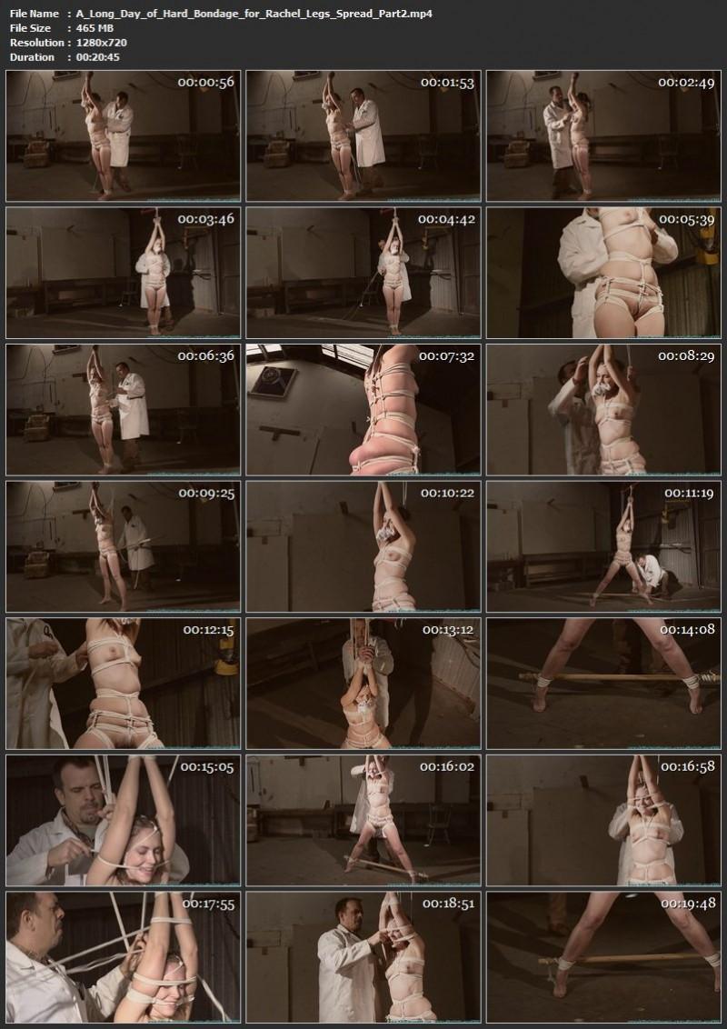 A Long Day of Hard Bondage for Rachel – Legs Spread. Futilestruggles.com (1274 Mb)