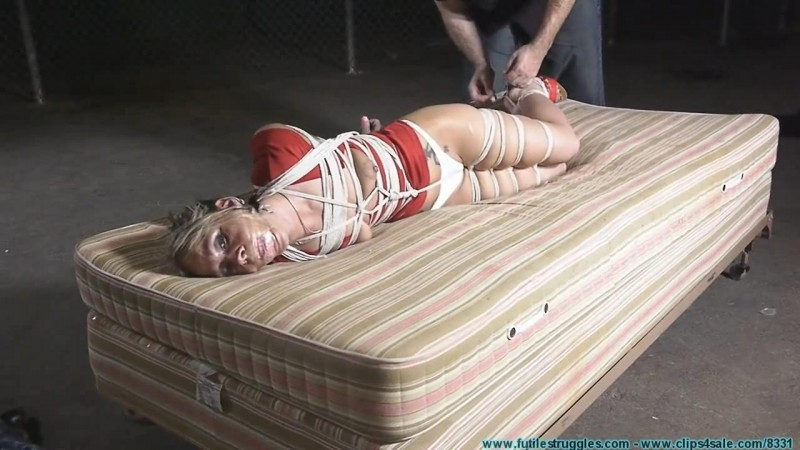 Good Old Fashioned TIGHT Hogtie for Adara. Futilestruggles.com (1372 Mb)