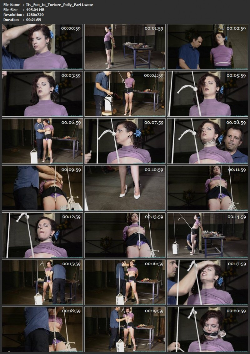 It's Fun to Torture Polly. Futilestruggles.com (953 Mb)
