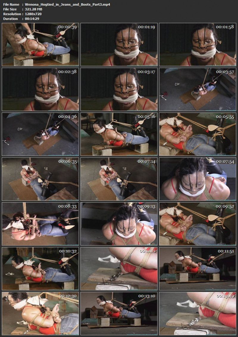 Wenona Hogtied in Jeans and Boots. Futilestruggles.com (1342 Mb)