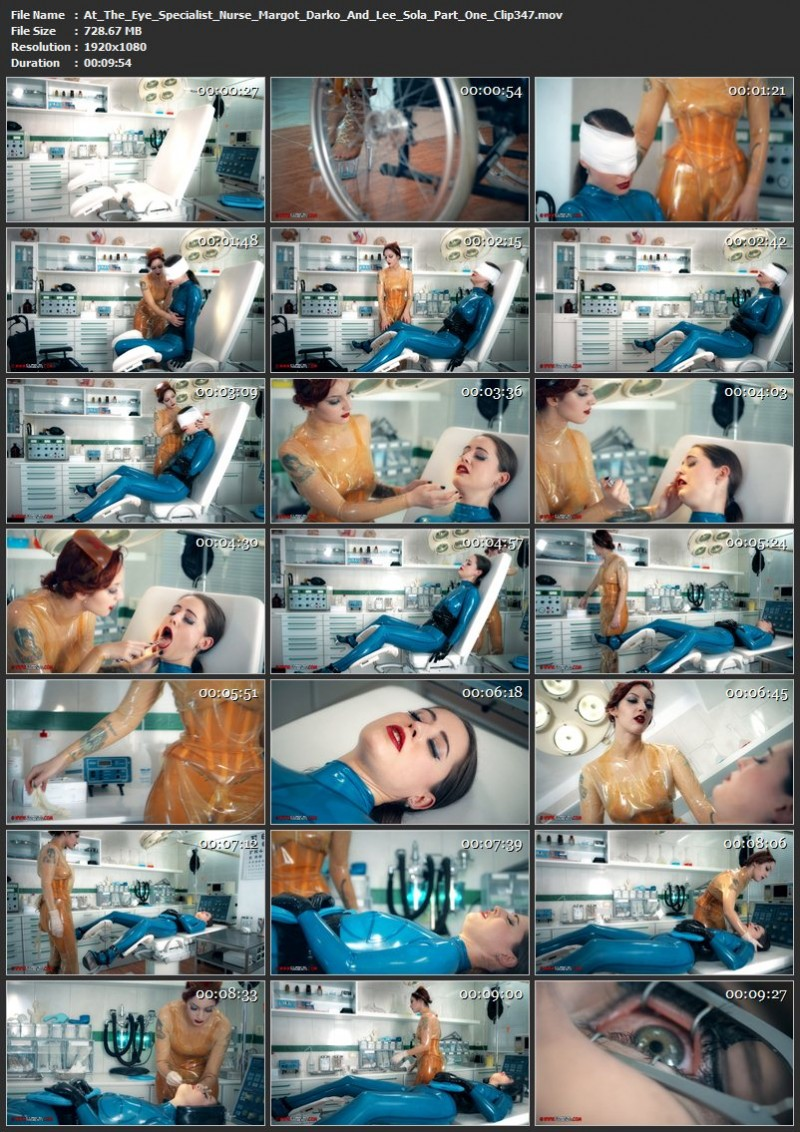 At The Eye Specialist – Nurse Margot Darko And Lee Sola Part One (Clip347). Jan 25 2018. Clinicaltorments.com (728 Mb)