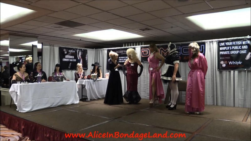Domcon La 2016 Crossdressing Pageant – Femdom Convention Competition. Jun 04 2018. AliceInBondageLand.com (1818 Mb)