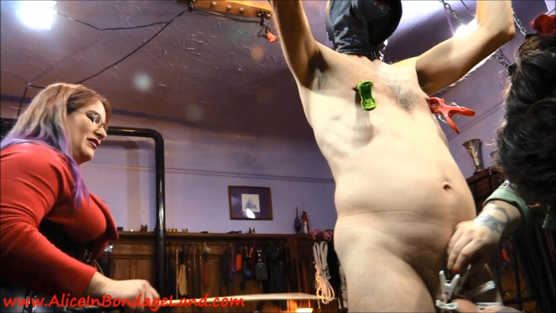 Masochist Meets Sadists – Mistress Vyra Manicure Cbt Nipple Torture Fingernail Fetish. Aug 06 2018. AliceInBondageLand.com (2969 Mb)