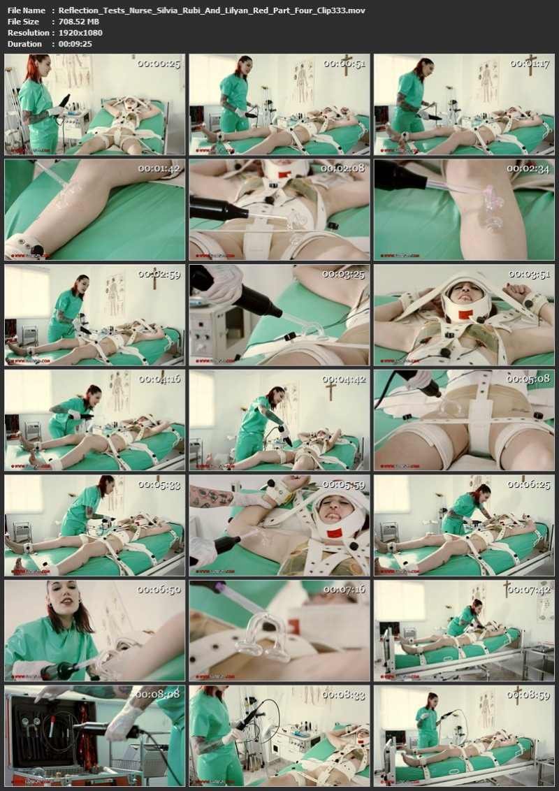 Reflection Tests – Nurse Silvia Rubi And Lilyan Red Part Four (Clip333). Sep 10 2017. Clinicaltorments.com (708 Mb)