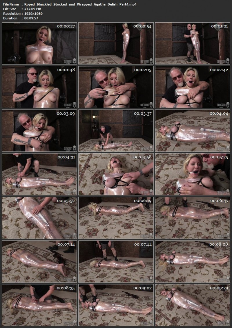 Roped, Shackled, Stocked and Wrapped – Agatha Delish. Dungeoncorp.com (1355 Mb)