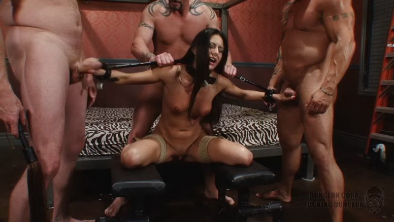Bound and Banged by a Gang – Nikki Daniels. Dungeoncorp.com (730 Mb)