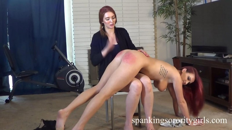 Veronica Spanks Tattle-teller Lola – Pledge Veronica Ricci, Lola Anderson, Episode 166. SpankingsororityGirls.com (335 Mb)