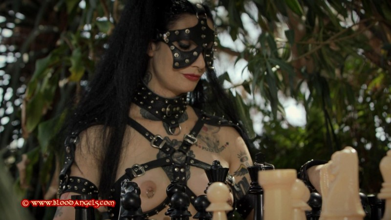 A Game Of Chess – Mistress Minerva And Margout Darko Part Three (Clip538). Dec 14 2018. Bloodangels.com (895 Mb)