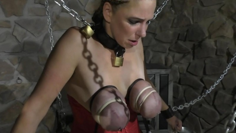 Bloody Breast Punishment for Bettine on the Spanish Horse (bip114). Jan 12 2019. Breastsinpain.com (293 Mb)