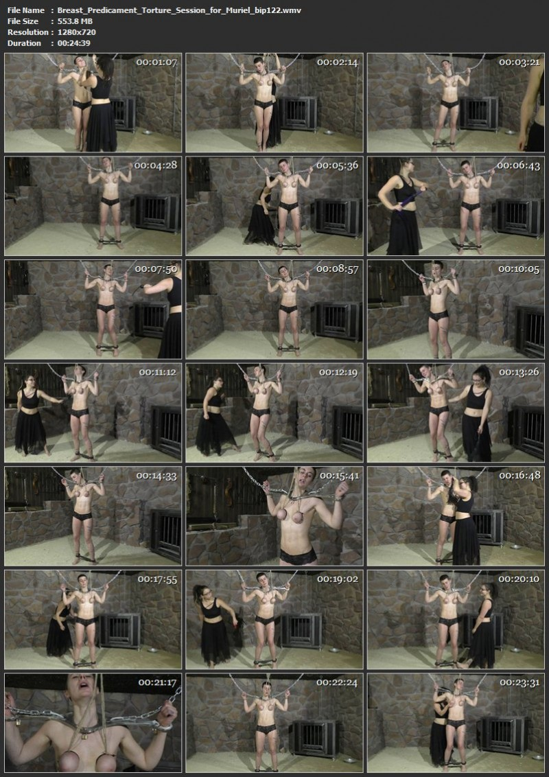 Breast Predicament Torture Session for Muriel (bip122). Mar 09 2019. Breastsinpain.com (553 Mb)