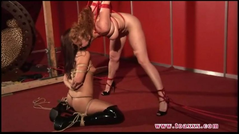Live Bondage Session for Sabrina Fox and Katarina Blade (tx407). Nov 13 2018. Toaxxx.com (444 Mb)