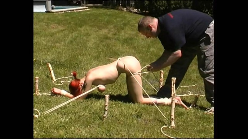 Outdoor Slave Training for Melanie (tx346). Dec 02 2017. Toaxxx.com (483 Mb)