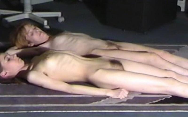 Michaela and Janeta posing indoors (rb3Sx). 01 Jan 2018. Skinnyfans.com (130 Mb)