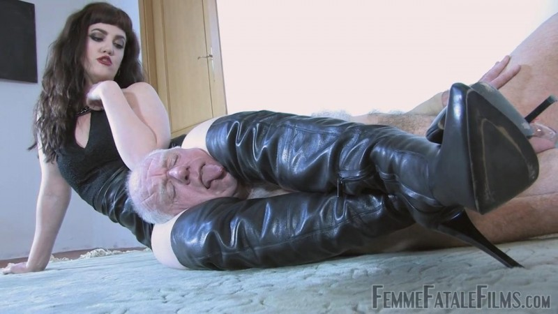 Booted For Domination – Featuring Miss Zoe. 14 Aug 2018. Femmefatalefilms.com (239 Mb)