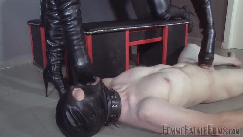 Brutal Boots – Featuring Divine Mistress Heather, Mistress Lady Renee. 16 Sep 2018. Femmefatalefilms.com (128 Mb)