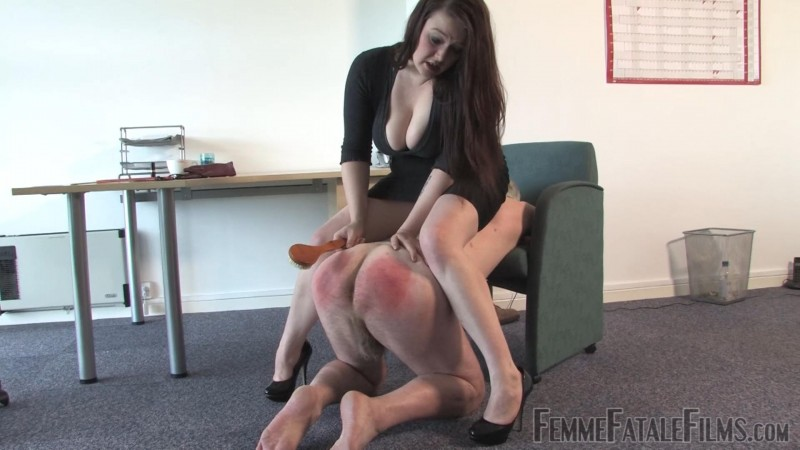 Humiliated In The Office – Featuring Governess Ely. 24 Dec 2018. Femmefatalefilms.com (805 Mb)