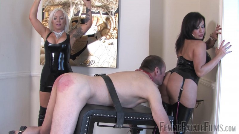 Wretched Slave – Featuring Miss Deelight, Mistress R'eal. 31 Dec 2018. Femmefatalefilms.com (735 Mb)