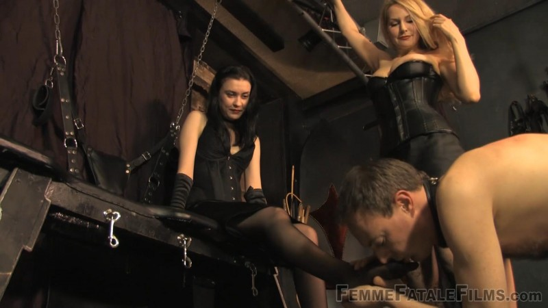 The Foot Slave – Featuring Miss Severity Myers, Mistress Eleise de Lacy. 17 Apr 2019. Femmefatalefilms.com (1946 Mb)