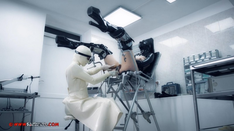At The Rubber Gynecologist – Nurse Celia Steinhardt And Margout Darko Part Three (Clip394). May 26 2019. Clinicaltorments.com (747 Mb)