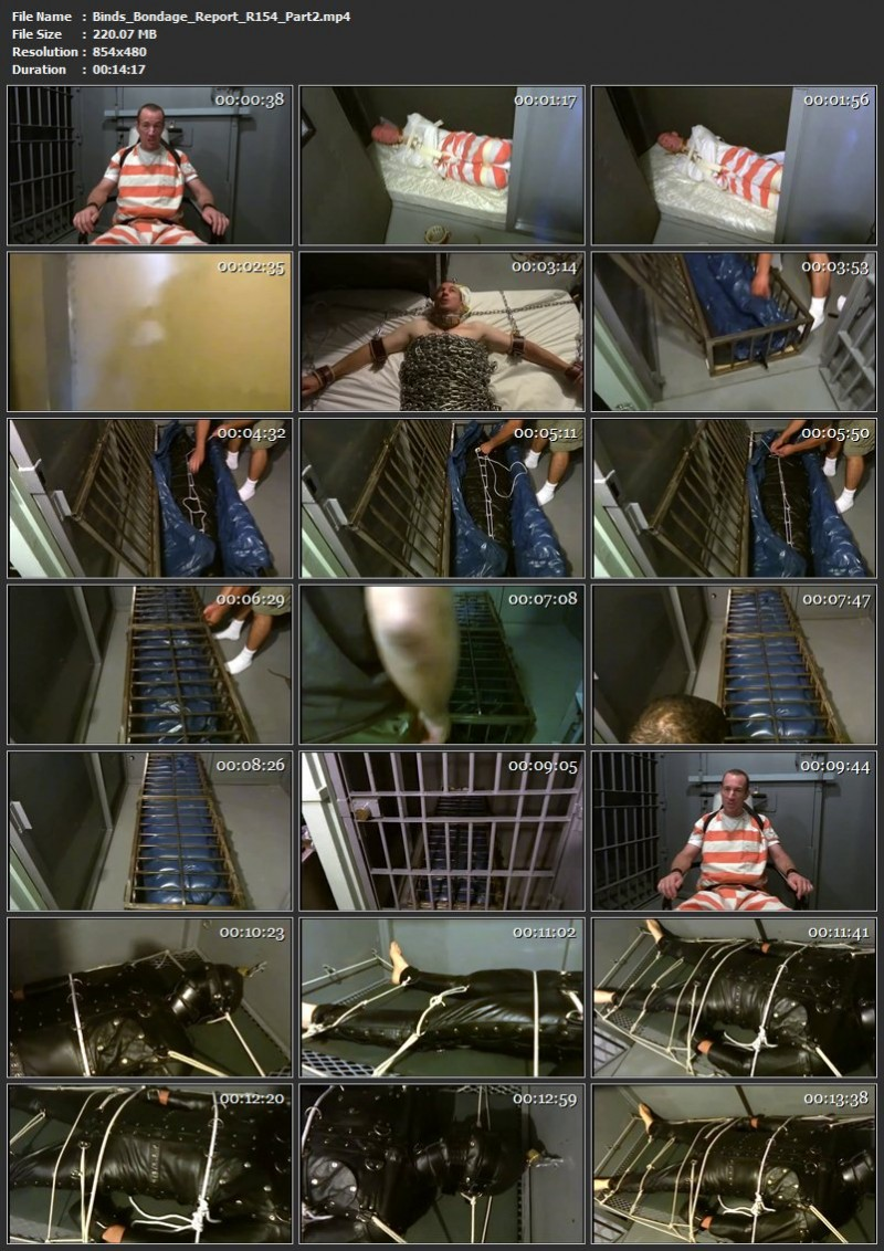 Binds Bondage Report (R154). Mar 31 2019. Seriousmalebondage.com (416 Mb)