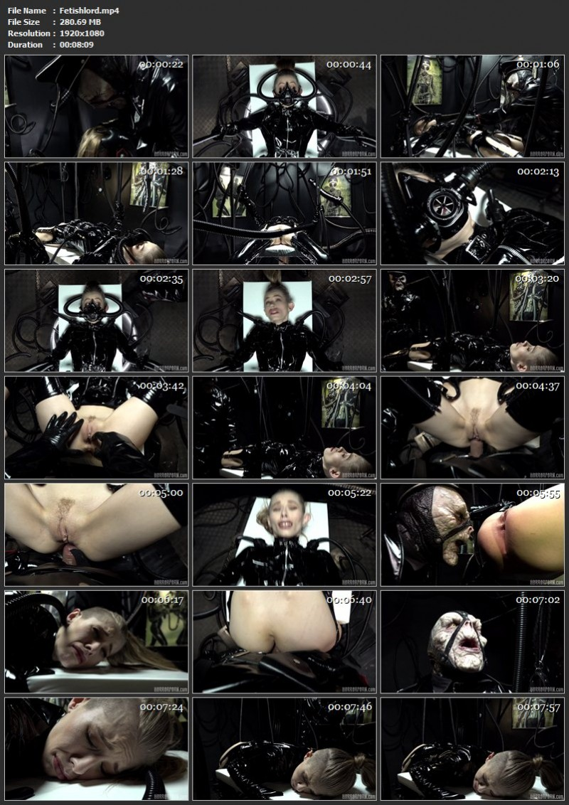 Fetishlord. Horrorporn.com (280 Mb)