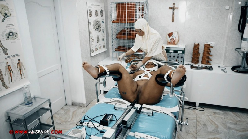 Treatment In Medical Restraints – Venus Black And Miss Estigia Part Four (Clip395). Jun 07 2019. Clinicaltorments.com (909 Mb)