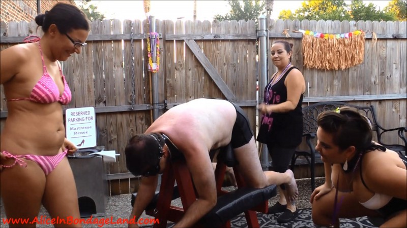 True Desires 6 - Summer Luau Party - Femdom Group Humiliation. Jul 04 2019. Aliceinbondageland.com (391 Mb)