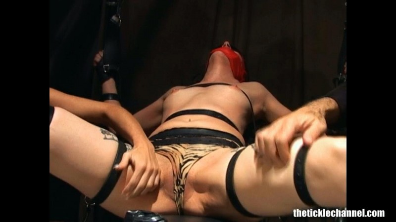 Blindfolded. Gagged. Tickled. Theticklechannel.com (359 Mb)