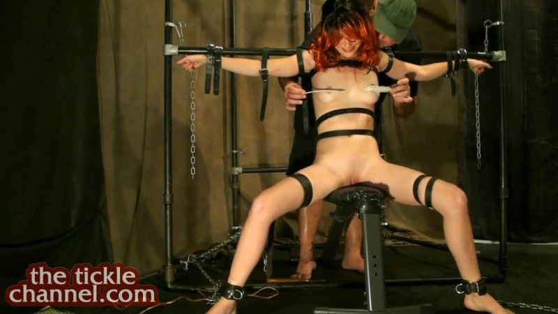 Tease and Tickle A Redhead. Theticklechannel.com (766 Mb)