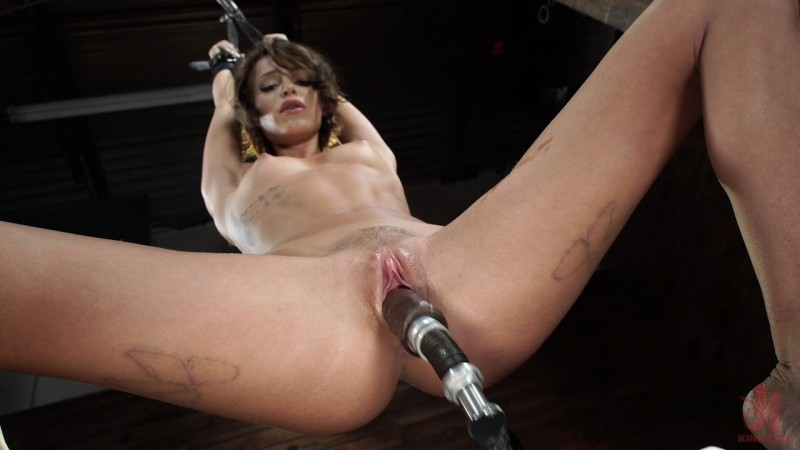 Sex Kitten Tied and Machine Fucked Into Oblivion – Emma Hix. FuckingMachines.com (1541 Mb)