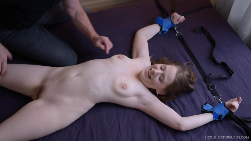 Tickling the Tiniest Nude Girl. SilverCherry (545 Mb)
