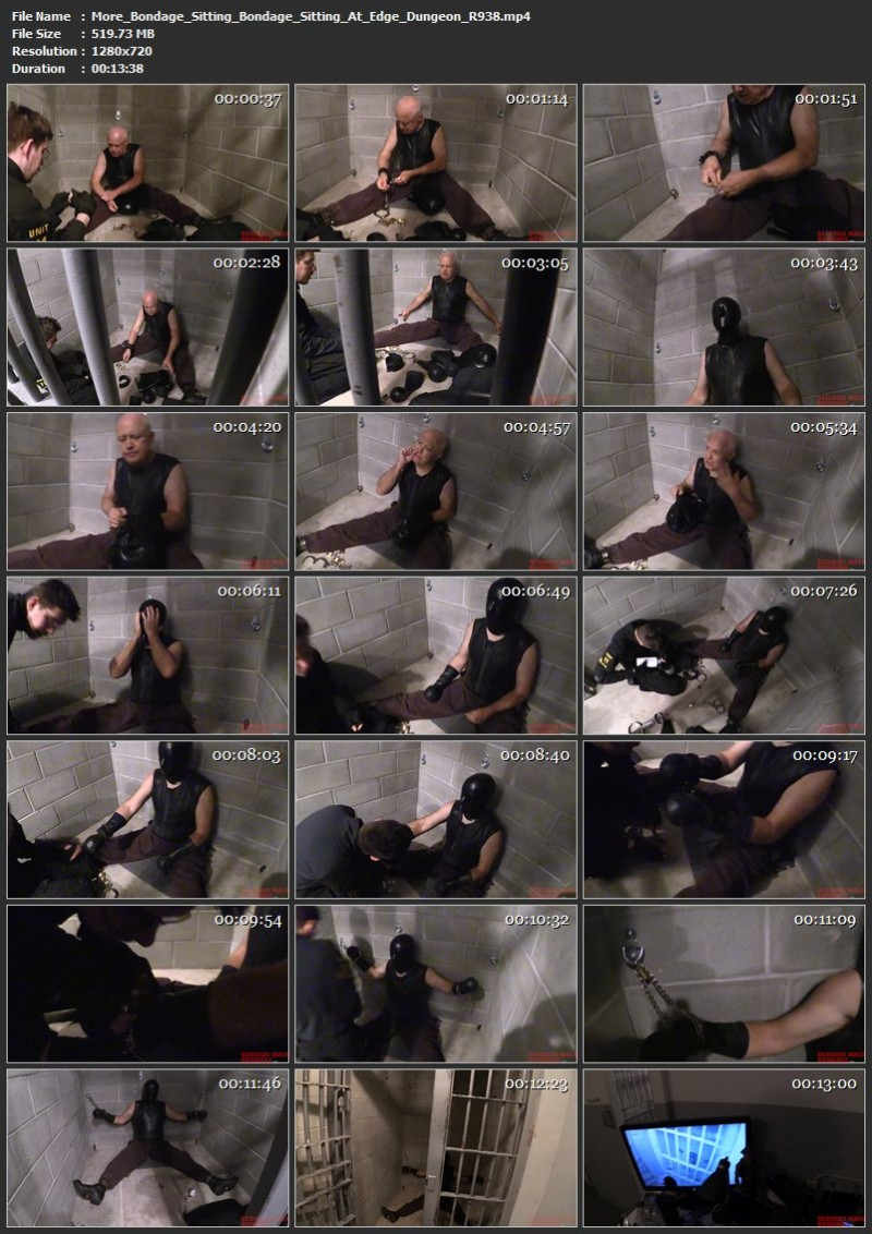 More Bondage Sitting – Another Day At The Institute and Bondage Sitting At Edge Dungeon (R938). Aug 20 2019. Seriousmalebondage.com (778 Mb)