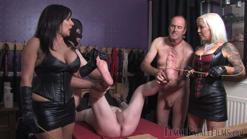 Beating Soles - Miss Deelight, Mistress R'eal. 20 Aug 2019. femmefatalefilms.com (572 Mb)