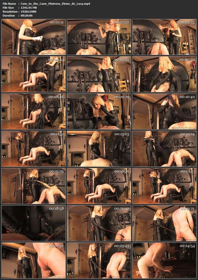 Cum to the Cane – Mistress Eleise de Lacy. 22 Apr 2019. femmefatalefilms.com (1341 Mb)
