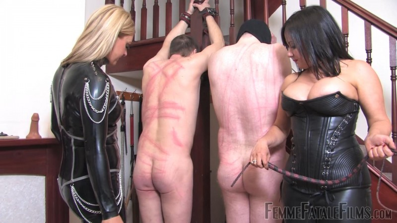 Frenzied Whipping – Mistress Athena, Mistress R'eal. 09 Apr 2019. femmefatalefilms.com (654 Mb)