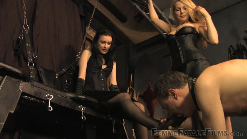 The Foot Slave – Miss Severity Myers, Mistress Eleise de Lacy. 17 Apr 2019. femmefatalefilms.com (1946 Mb)
